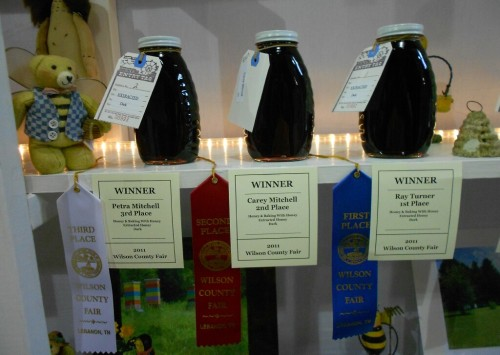 2011 Winners in the Dark Honey Division