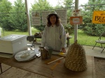 Peggy Scholes, Wilson County Beekeeper, Worked with 1000 2nd Graders at the Wilson County 12th Annual Agricultural Field Day