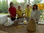 Wilson County Beekeeper Team ... Danielle Drueck, Karen Dawson, Shirley Howell, Peggy Scholes