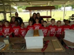 Sam Houston 2nd Graders Learn About Beekeeping from Wilson County Beekeepers