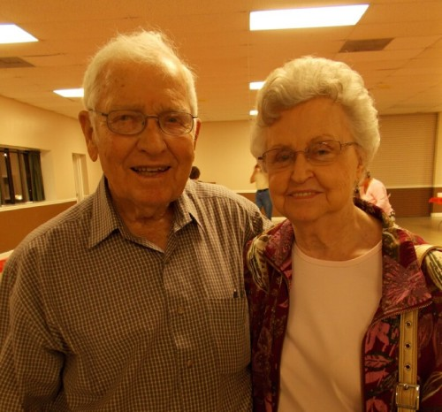Founding member W.T. Nolen and his beautiful bride celebrate 64 Years of marriage