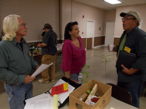 Carey, Petra and Fred working to make WCBA the best beekeeping association in Tennessee