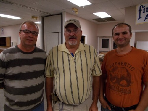 Avvam Dudar, Jim Murff, and Florin Dudar ... Castalian Springs, Tennessee ... Pollinators of Florida Orange Trees