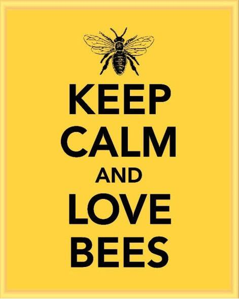 Keep Calm and Love Bees